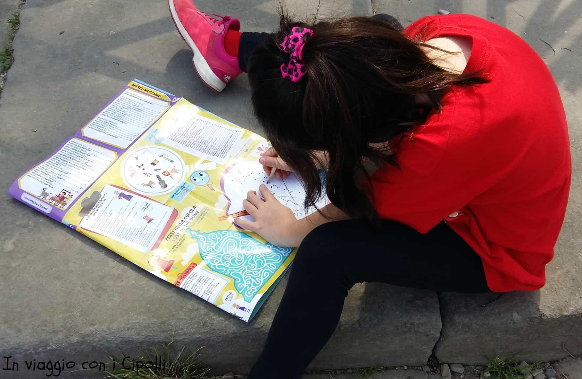 La mappa Italy for Kids