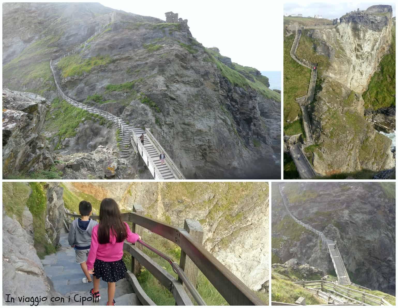 Castello di Tintagel Cornovaglia